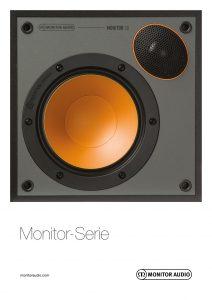 Deutscher Monitor Audio Monitor 3G-Prospekt