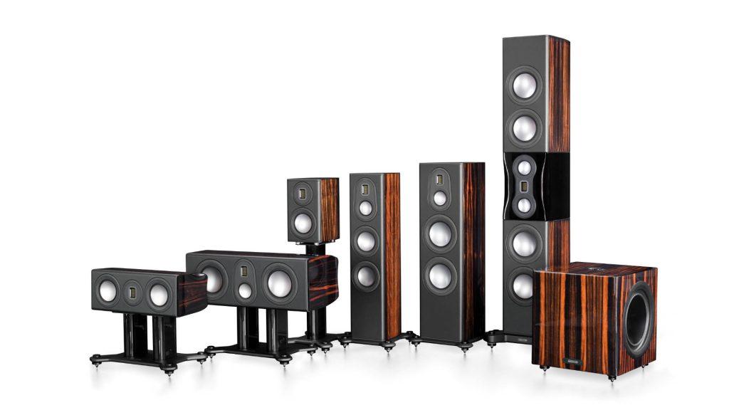 Monitor Audio Platinum II-Familienfoto