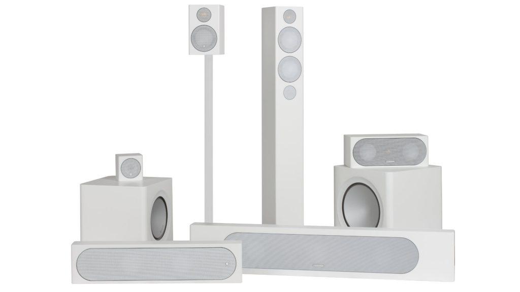 Moniotr Audio Radius-Serie in Weiß