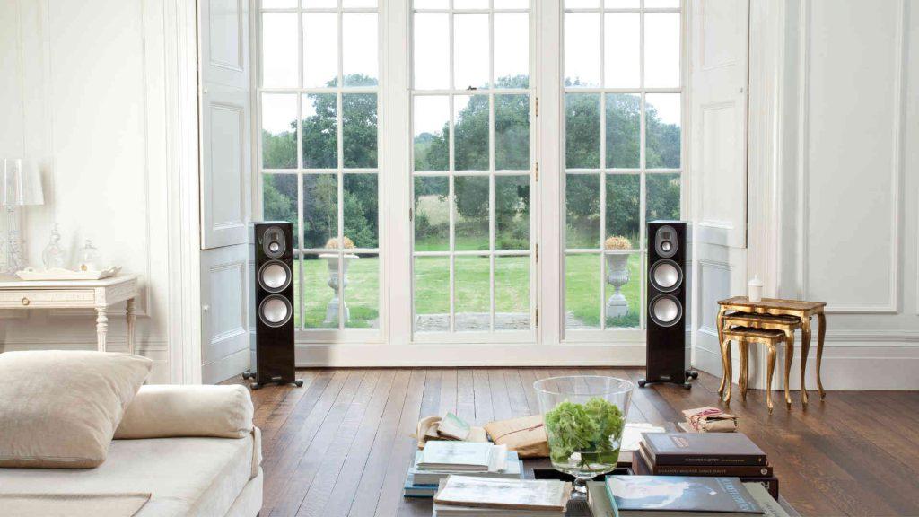 Monitor Audio Gold 300 im Wohnzimmer