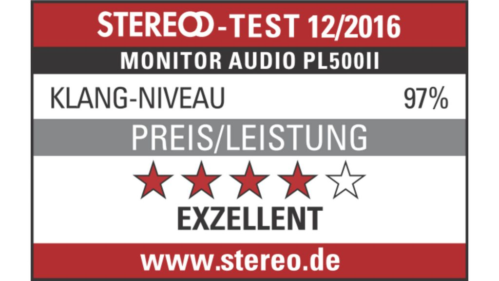 Bewertung Monitor Audio Platinum PL500 II