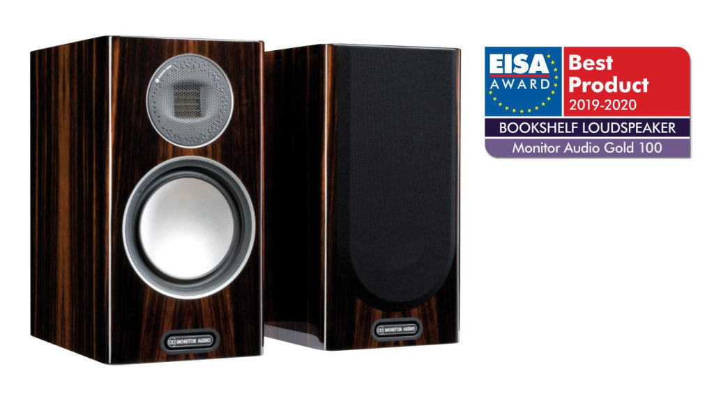 Monitor Audio Gold 100 mit EISA-Logo