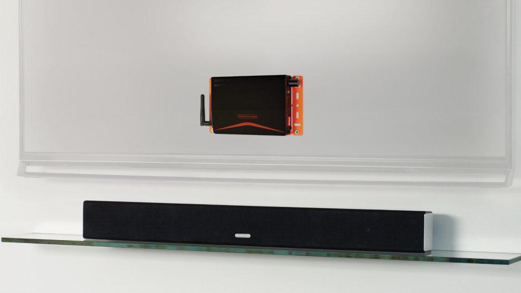 Monitor Audio IA40-3 mit Monitor Audio Soundbar