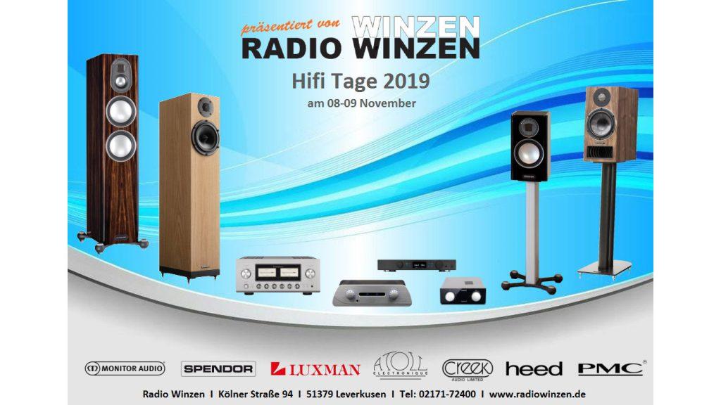 HiFi-Tage bei Radio Winzen in Leverkusen