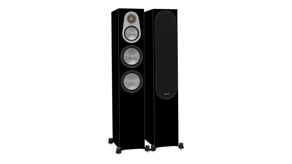 Monitor Audio Silver 300 Schwarz Hochglanz