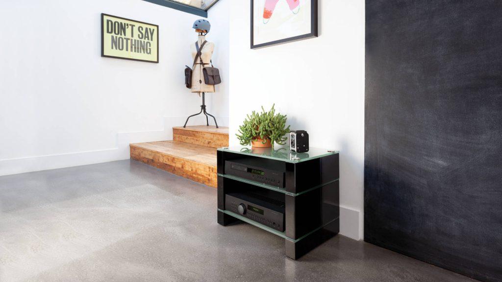 Blok-STAX-450 im Wohnzimmer