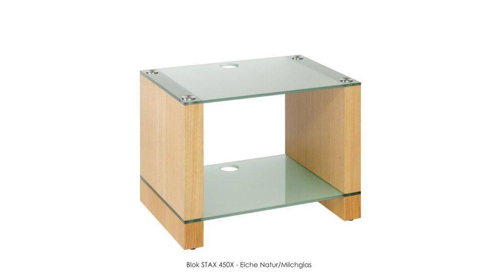 Blok STAX 450X Eiche Natur - Milchglas