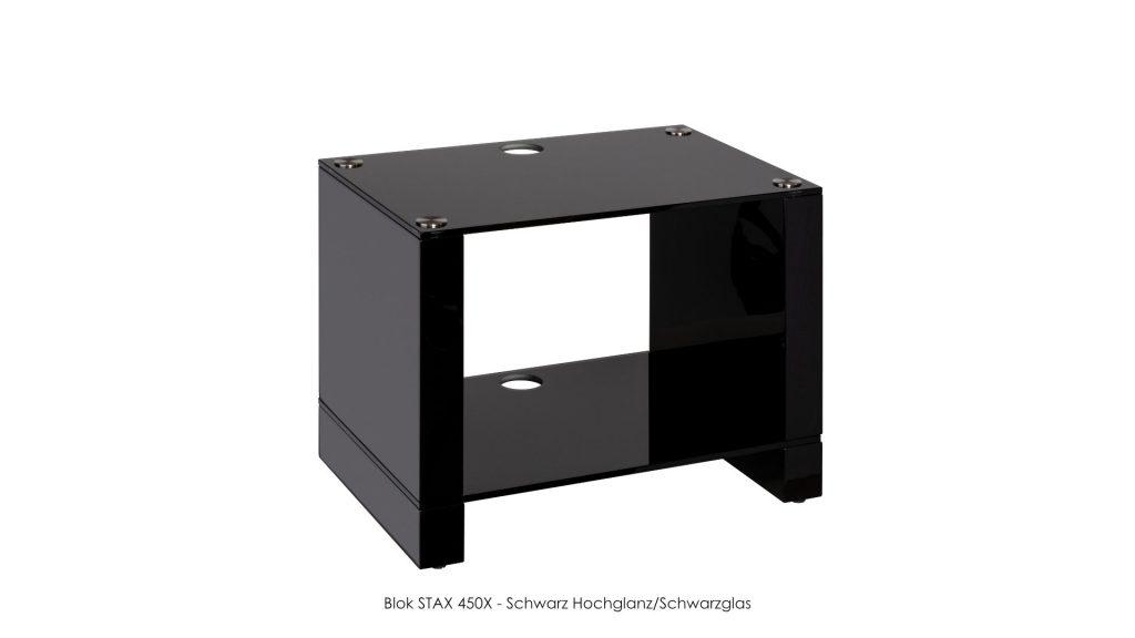 Blok STAX 450X Schwarz Hochglanz - Schwarzglas