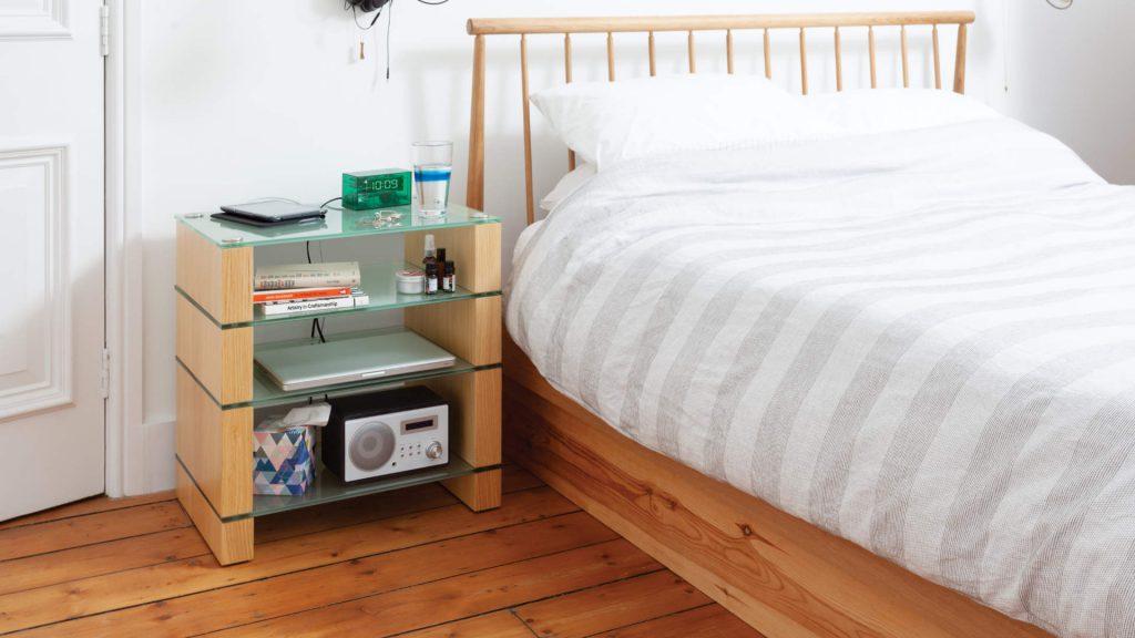 Blok STAX 600 im Schlafzimmer
