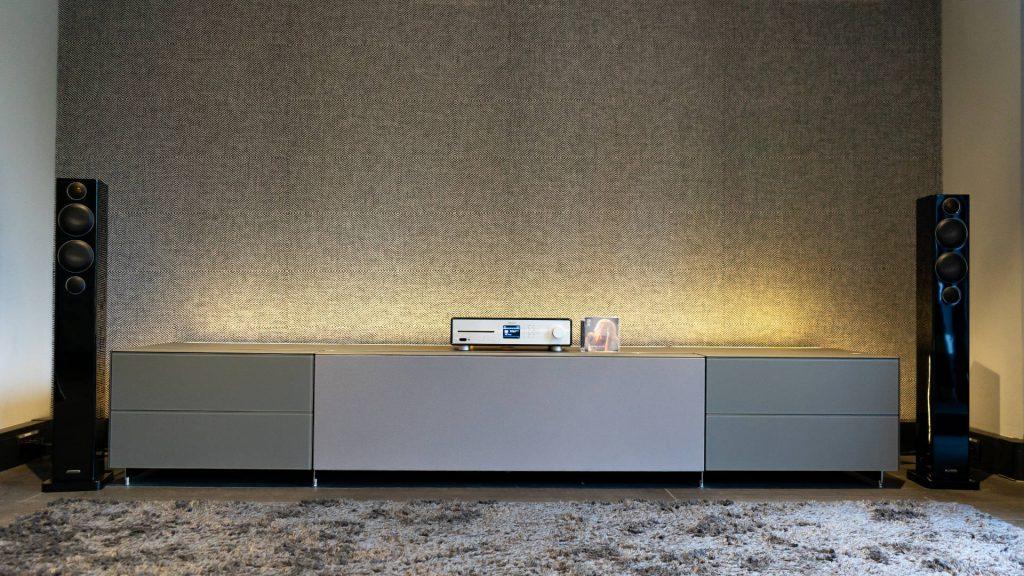 Sonoro Maestro mit Monitor Audio Radius 270