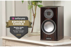 Monitor Audio Gold 100 Editor´s Choice AV Forums 12-2019 Beitragsbild