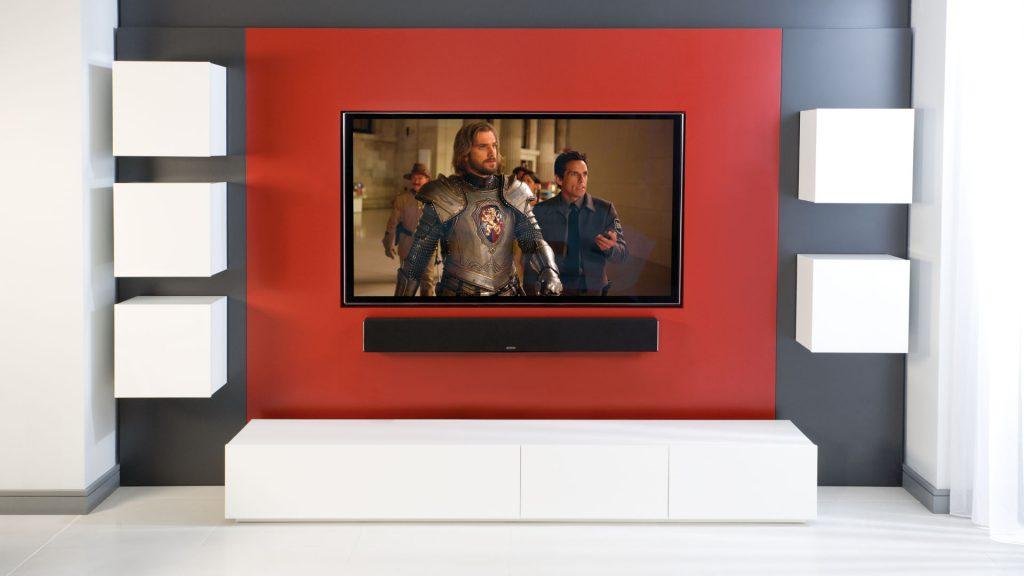 Monitor Audio Soundbar SB-3 im Wohnzimmer 2