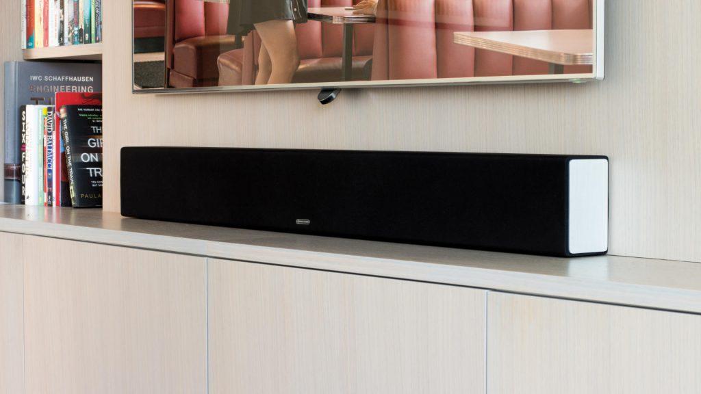 Monitor Audio Soundbar SB-4 im Wohnzimmer