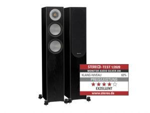 Monitor Audio Silver 200 Testbericht STEREO 01-2020