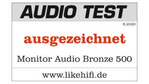 Monitor Audio Bronze 500 Testlogo AUDIO TEST 06-2020