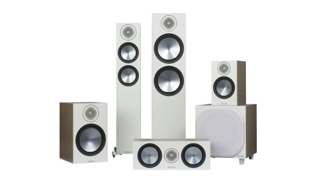 Monitor Audio Bronze 6G Familienfoto in Urban Grey