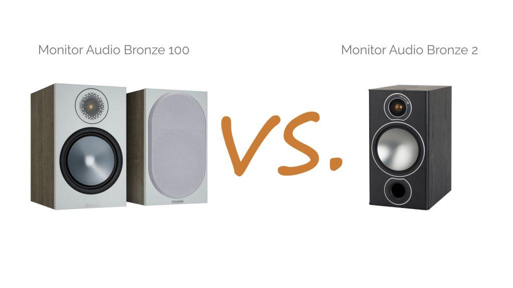 Monitor Audio Bronze 100 vs. Bronze 2