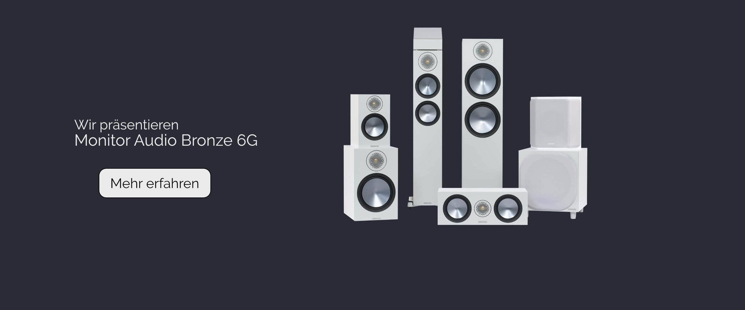 Monitor Audio Bronze 6G-Banner