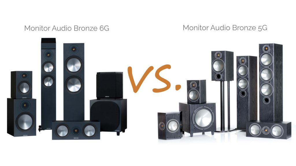 Monitor Audio Bronze 5G vs. Bronze 6G