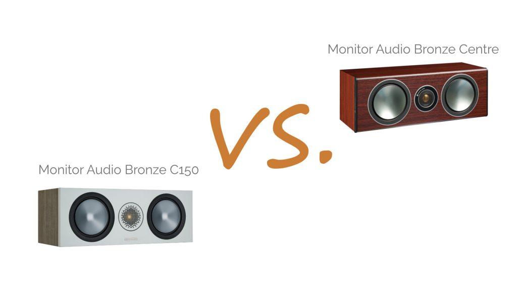 Monitor Audio Bronze C150 vs. Bronze Centre