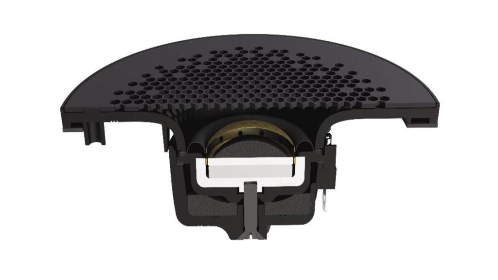 Monitor-Audio-Hochtöner-mit-Waveguide-einzeln