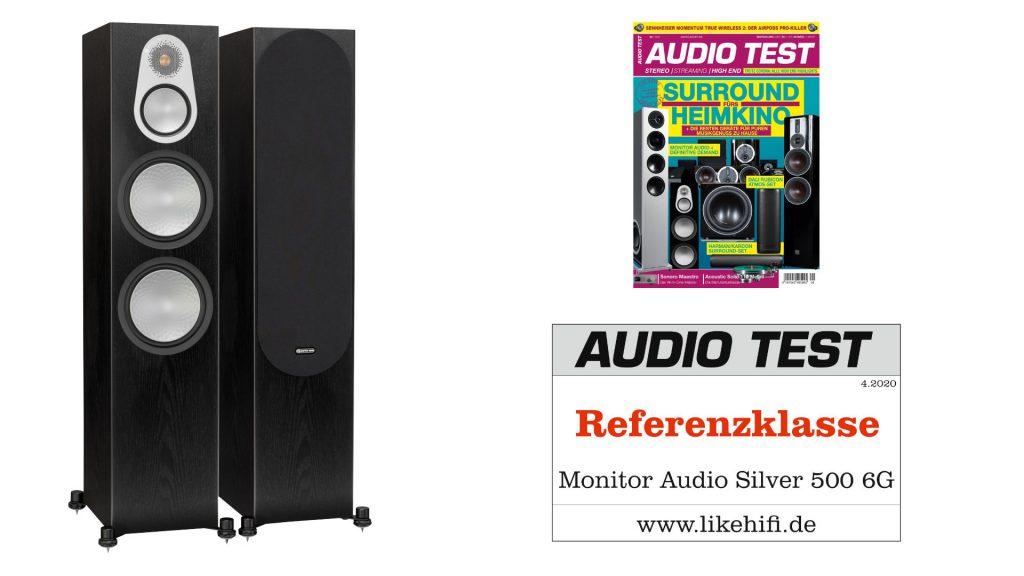 Monitor Audio Silver 500 6G AUDIO TEST Referenz 04-2020