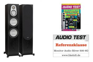 Monitor Audio Silver 500 6G AUDIO TEST Referenz 04-2020 Beitragsbild