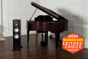 Monitor Audio Gold 300 mit Editors Choice Award von The absolute Sound 2020 - Beitragsbild