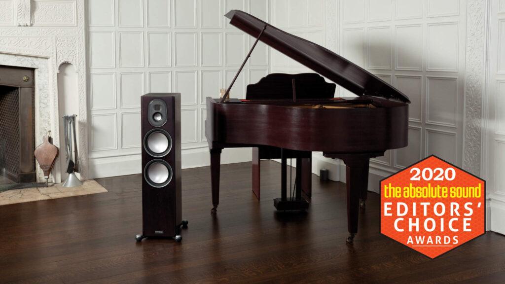 Monitor Audio Gold 300 mit Editors Choice Award von The absolute Sound 2020