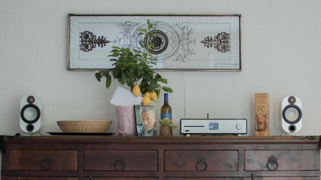 Sonoro-MAESTRO mit Monitor Audio Apex A10 HiFi-IFAs