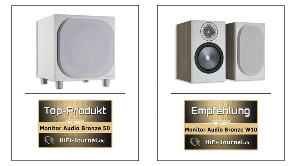 Monitor Audio Bronze 50 + W10 HiFi-Journal-Test