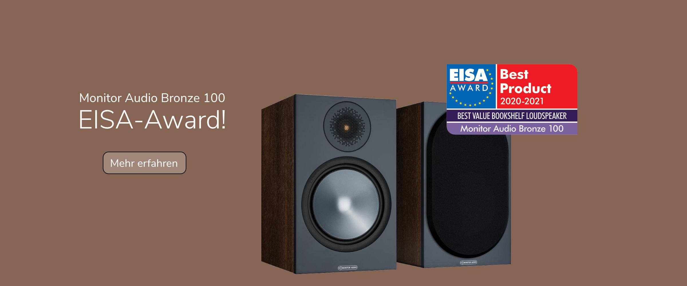 Monitor Audio Bronze 100 gewinnt EISA-Award
