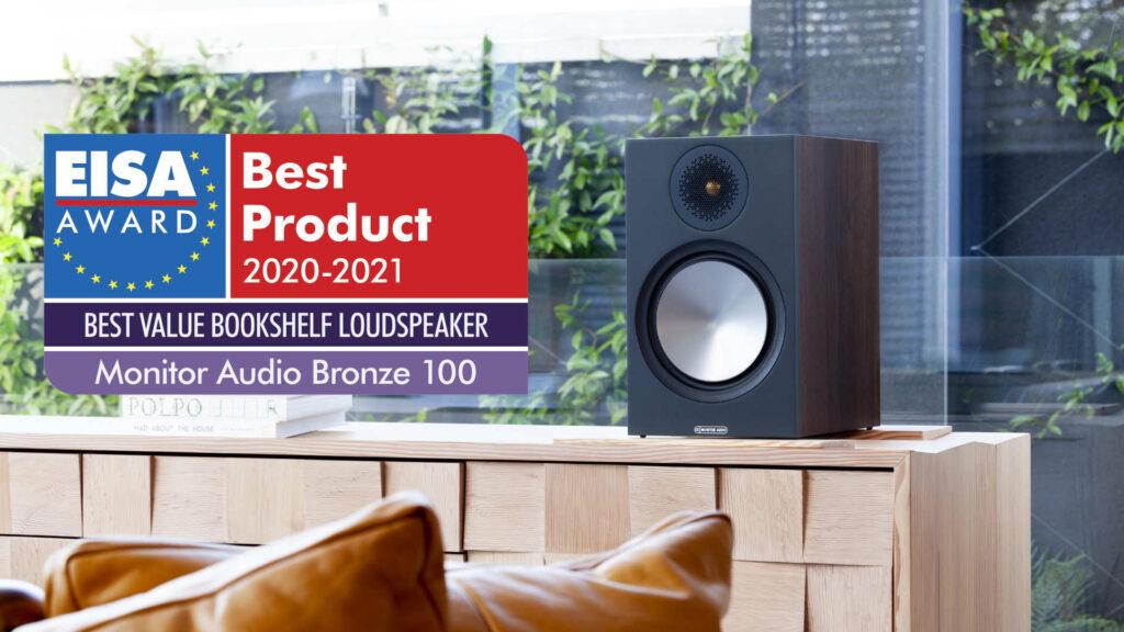 Monitor Audio Bronze 100 mit EISA-Award