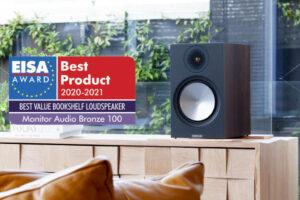 Monitor Audio Bronze 100 mit EISA-Award Beitragsbild