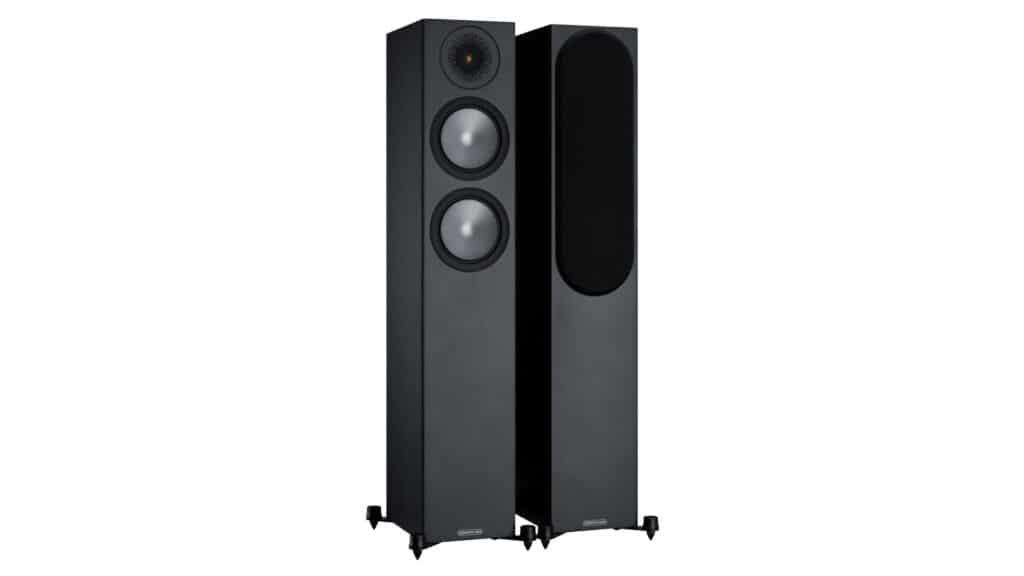 Monitor Audio Bronze 200 Schwarz seidenmatt