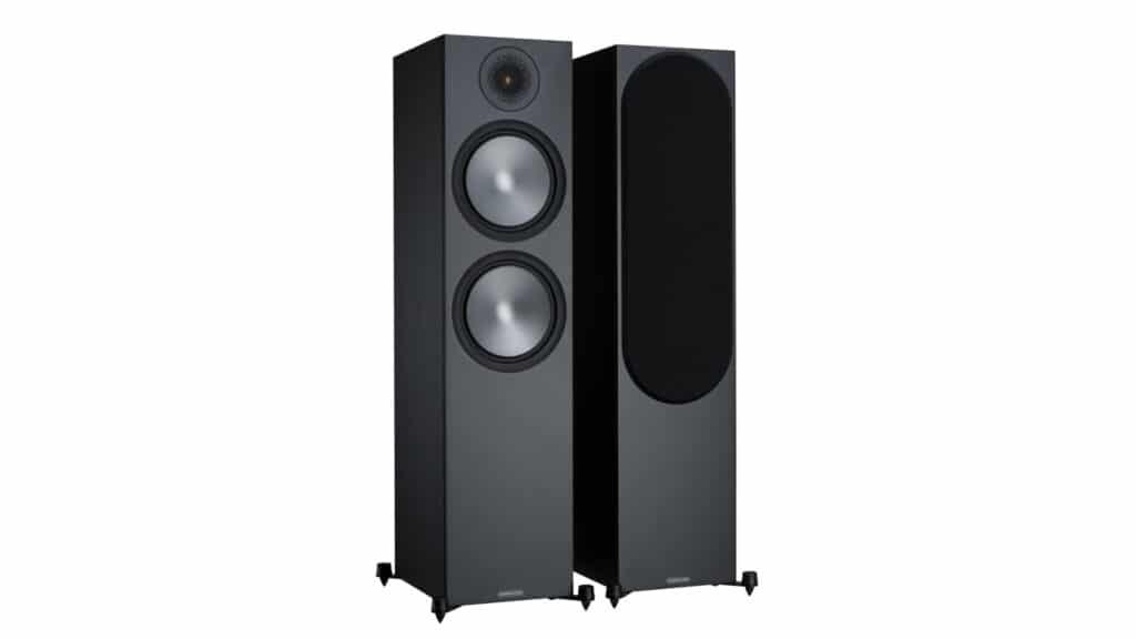 Monitor Audio Bronze 500 Schwarz seidenmatt