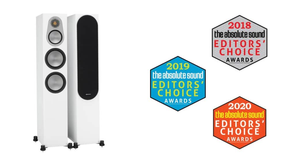 Monitor Audio Silver 300 Gewinner des Editors' Choice-Award bei The Absolute Sound