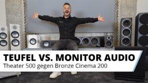 Teufel Theater 500 Surround vs. Monitor Audio Bronze Cinema 200 beim HEIMKINORAUM