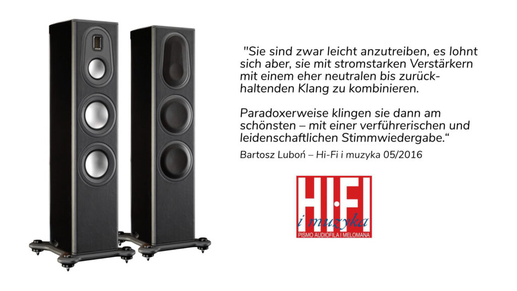 Monitor Audio Platinum PL200 II im Test bei Hi-Fi i muzyka