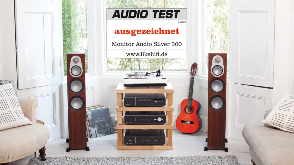 Monitor Audio Silver 300 6G AUDIO TEST 07-2020 Ausgezeichnet