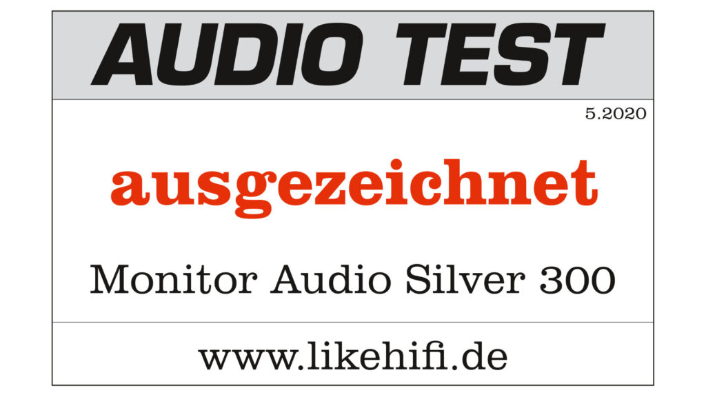 Testlogo Monitor Audio Silver 300 AUDIO TEST 07-2020