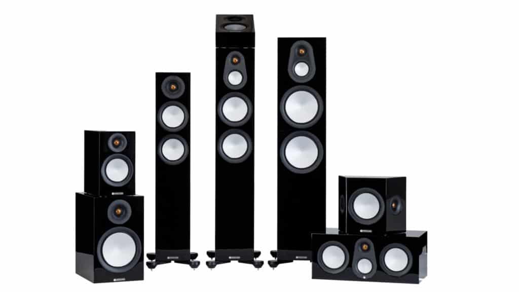 Monitor Audio Silver 7G-Serie Schwarz Hochglanz
