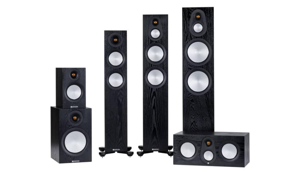 Monitor Audio Silver 7G-Serie in Eiche Schwarz