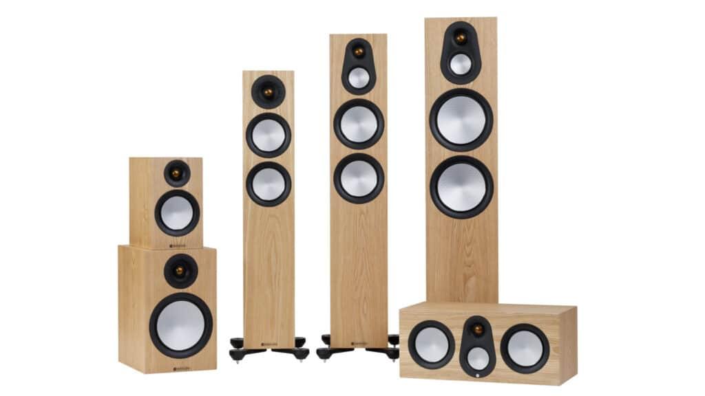 Monitor Audio Silver 7G-Serie in Esche