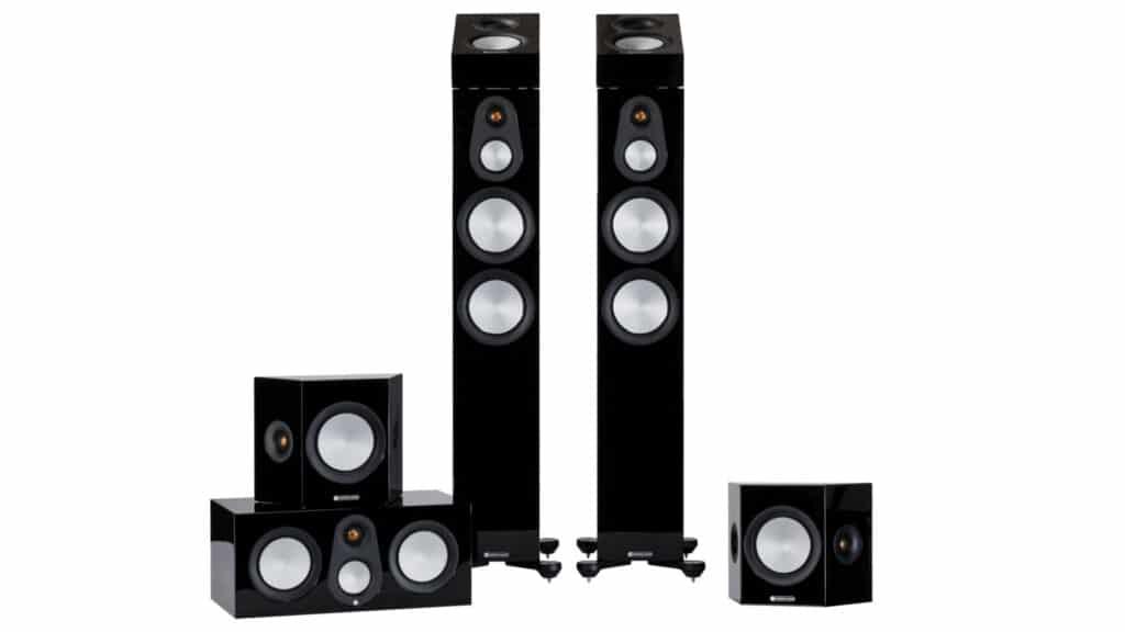 Monitor Audio Silver 7G-Serie in Schwarz Hochglanz