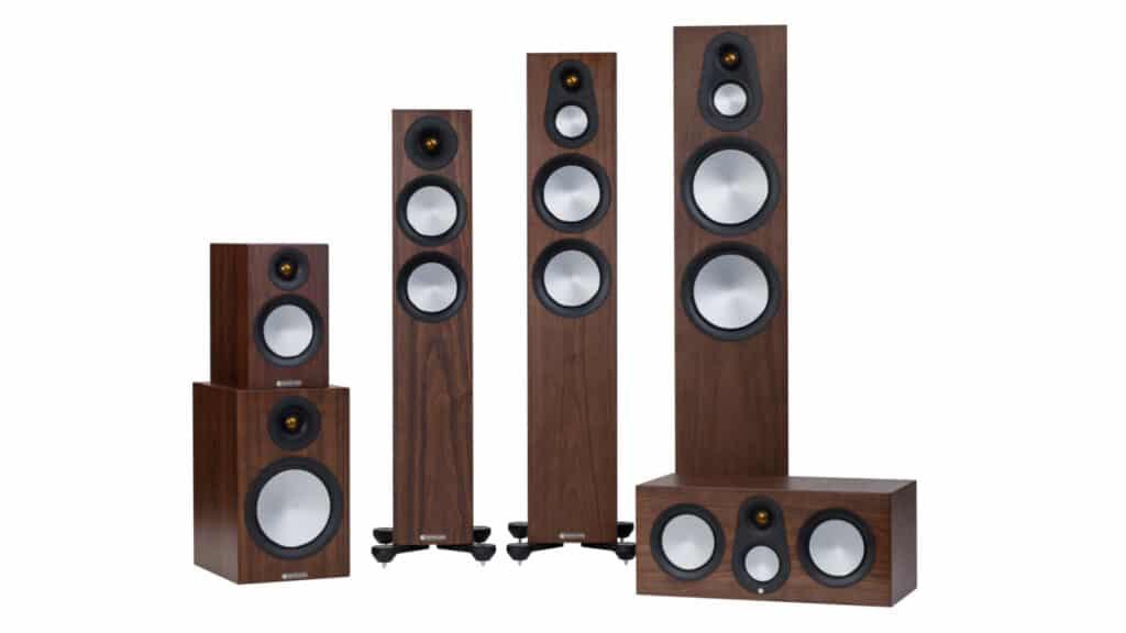 Monitor Audio Silver 7G-Serie in Walnuss Natur