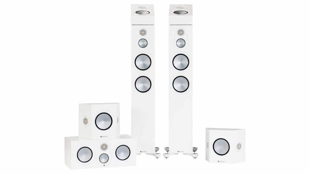 Monitor Audio Silver 7G-Serie in Weiß Seidenmatt