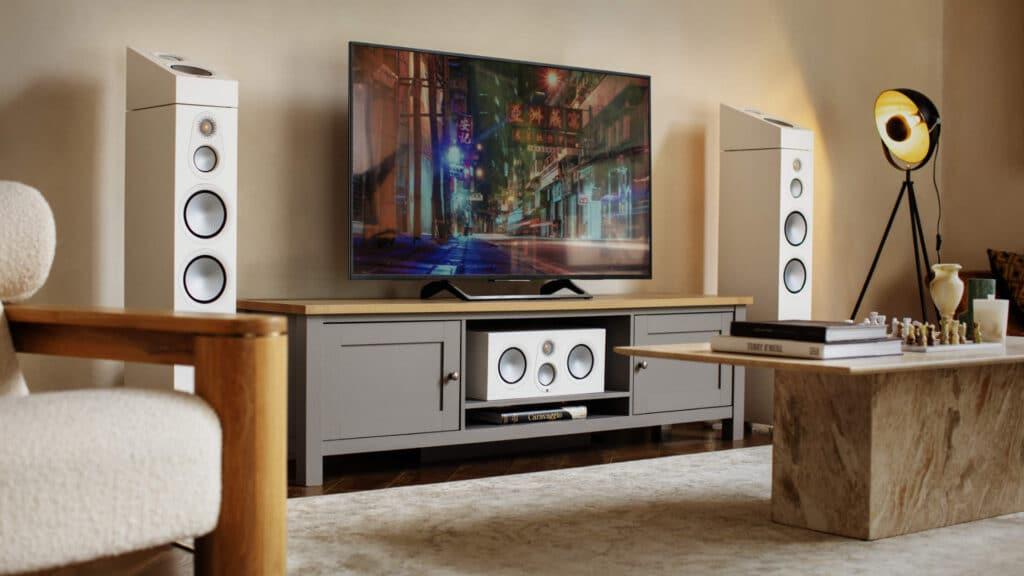 Monitor Audio Silver 7G im Wohnzimmer